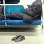 団塊世代の電車の常識悪すぎワロタ。注意した結果・・・
