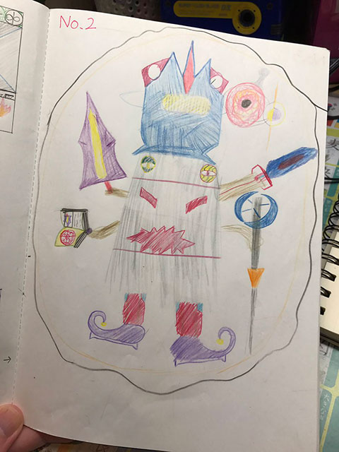 子どもが描いた絵1