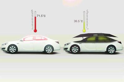 車の温度が上がらない