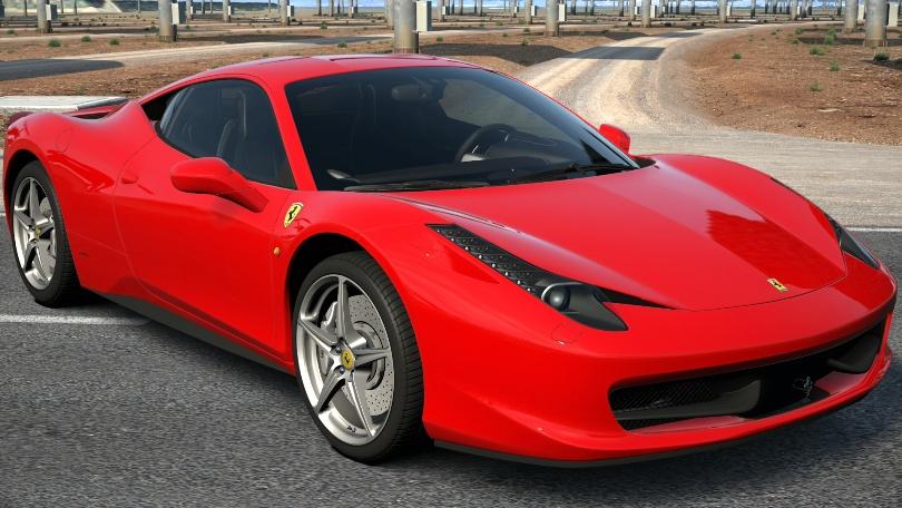 フェラーリ・458イタリア