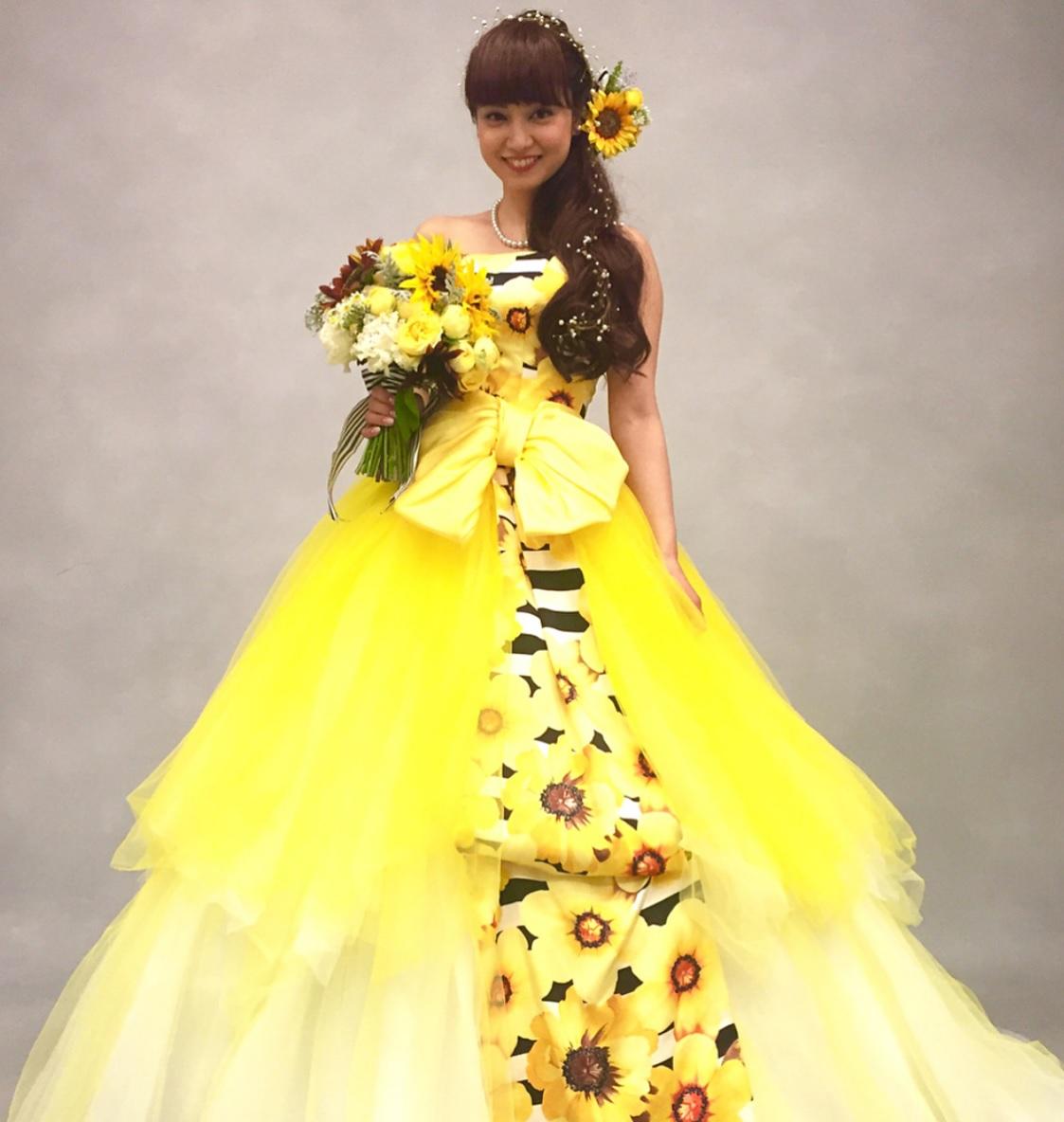 ひまわりドレス