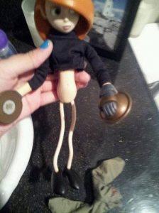 中国製人形