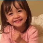 【話題】2歳の女の子が歌う「げんこつ山のたぬきさん」が超絶可愛すぎる