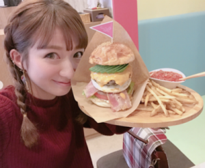 辻希美ハンバーガー