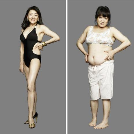 90㎏減量女性