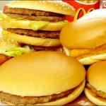 マクドナルド、糖質がどえらい事に…昔と比べて栄養素が変わった!?