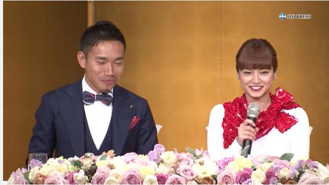 【祝】長友佑都、平愛梨が結婚!プロポーズの言葉は・・