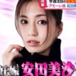 【悲報】妊娠中の安田美沙子さんの夫が不倫で離婚か!?