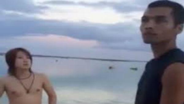 グアムにて、たばこをポイ捨てする日本人DQN。現地人から制裁を受けるwww(動画あり)