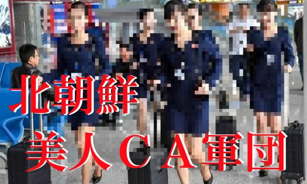 【画像あり】スカート短すぎ!!セクシーすぎる北朝鮮の美人CA集団がこちら…機内食も公開