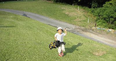 子どもゴルファー