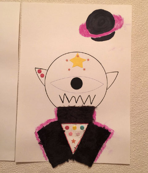 子どもが描いた絵2