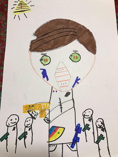 子どもが描いた絵3