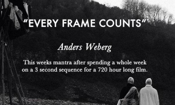 【動画あり】世界一長い映画「アンビアンス」。上映時間なんと720時間!予告で7時間!www