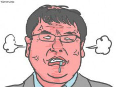 カンニング竹山 イラスト