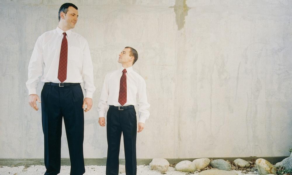 身長低い男性