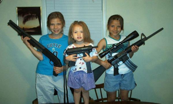 アメリカ 銃