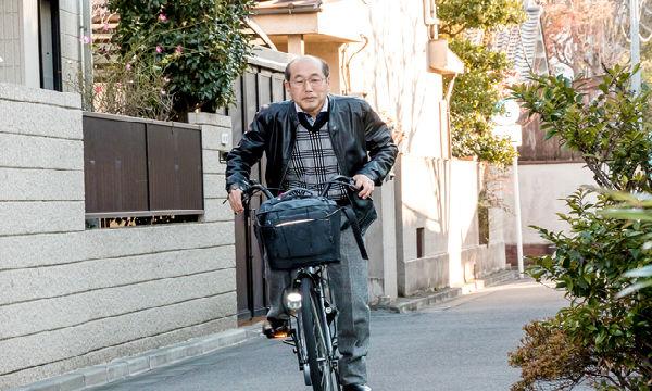 桐谷さん 自転車