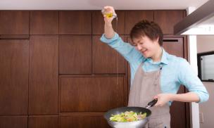 男性 料理