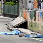 大阪地震で9歳女児が死亡、原因の落下したブロック塀構造が酷すぎる…