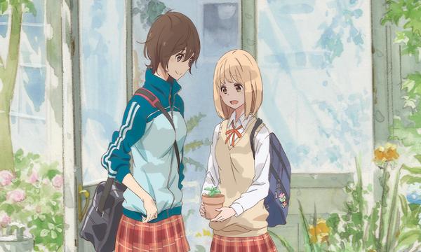 【アニメ映画】女子高生同士の恋愛を描く『あさがおと加瀬さん。』【キャスト情報&あらすじ】