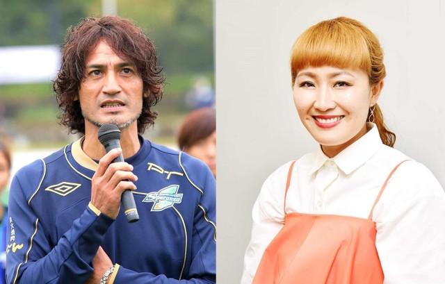 丸山桂里奈と本並健治の元サッカー日本代表同士が結婚