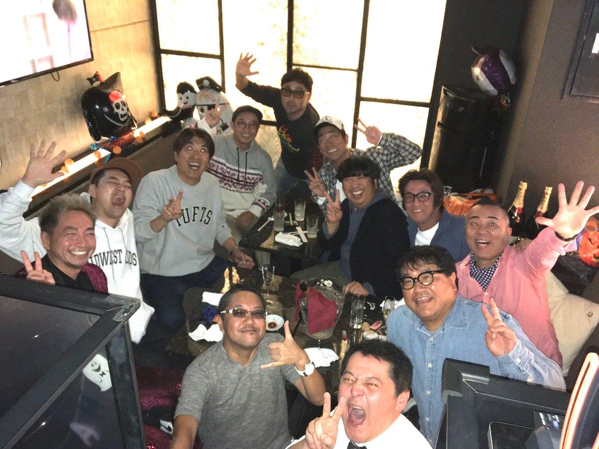石橋貴明の誕生日会にGACKTも登場で大盛況