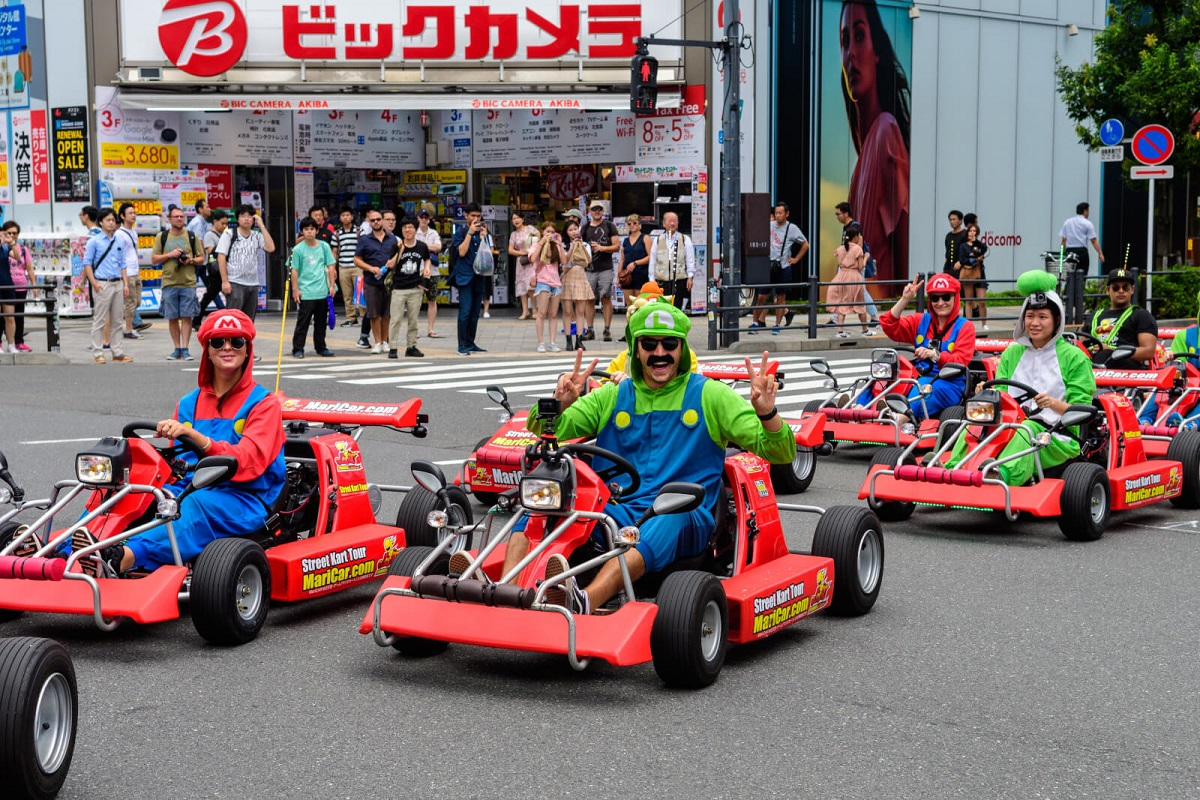 東京に行ったらマリオカートが見れたけど…裁判は任天堂が勝訴